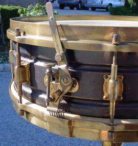 Leedy 1920 Black Elite Caixas vintage / Snare vintage