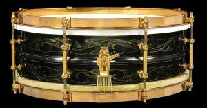 Ludwig Black Beauty (De Luxe) 1921 Caixas vintage / Snare vintage
