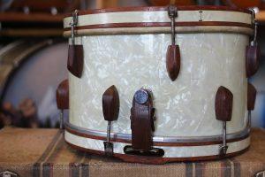 Slingerland Rolling Bomber Anos 40 Caixas vintage / Snare vintage